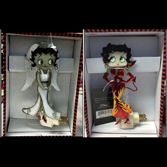 Betty Boop nightlight Devil night light